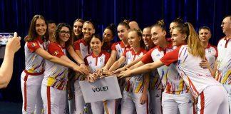 Naționala de volei a României participă la Festivalul Olimpic al Tineretului European care va avea loc la Baku, în Azerbaidjan