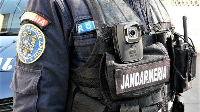 Ordinea publică asigurată de jandarmi la meciuri de fotbal disputate în Gorj