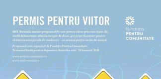 """Sâmbătă, 23 ianuarie 2021 - ultima zi pentru înscrieri în programul """"Permis pentru viitor"""""""