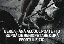 Berea fara alcool o varianta de sursa de hidratare