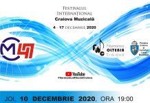 CVINTETE PENTRU PIAN SI SUFLATORI - recital online pe canalul YouTube al Filarmonicii OLTENIA Craiova
