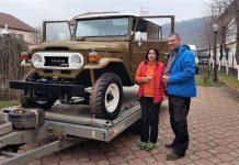 Nicușor și Nicoleta Duică vin de la 2500 de kilometri să participe la cursele de off-road
