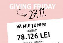 O floare de colț pentru o masă caldă - dm drogerie markt Romania donează peste 78.000 lei pentru a asigura o masă caldă