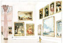 O noua aventura din seria Ernest si Celestine de data aceasta la muzeu