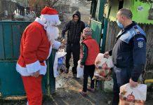 Polițiştii din Bumbești Jiu și Turceni, ajutoarele lui Moş Crăciun
