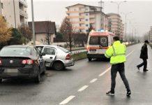Ramnicu Valcea Accident rutier pe bulevardul Dem Radulescu