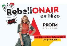 RebeliON AIR la PROFM