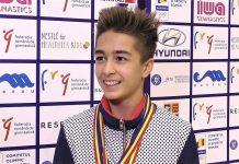 Nicolas Țârcă a lăsat America și câștigă medalii la gimnastică pentru România!