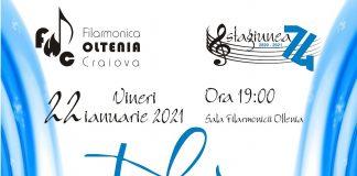 Concert coral la Filarmonica OLTENIA Craiova sub bagheta dirijorului Eugen Petre Sandu