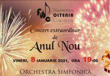 Filarmonica OLTENIA Craiova vă invită la Concertul Extraordinar de Anul Nou