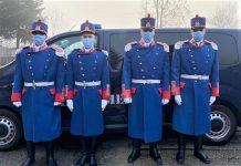 Jandarmeria Valcea prezenta la manifestarile prilejuite de Mica Unire