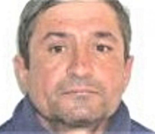 Nica Matei, de 53 de ani, din comuna Prigoria, este dat dispărut - în dimineața zilei de 7 ianuarie 2021 a plecat de acasă și nu a mai revenit