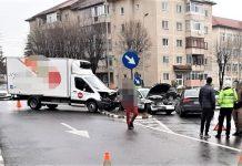 Râmnicu Vâlcea Accident rutier la intersecția străzilor Republicii și Decebal