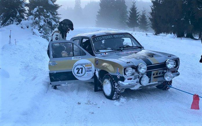 Romania Historic Winter Rally: S-au dat cu mașini istorice de 200.000 de euro la - 20 de grade!