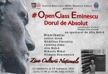 Teatrul Municipal Ariel Ramnicu Valcea #OpenClass Eminescu - Dorul de Absolut