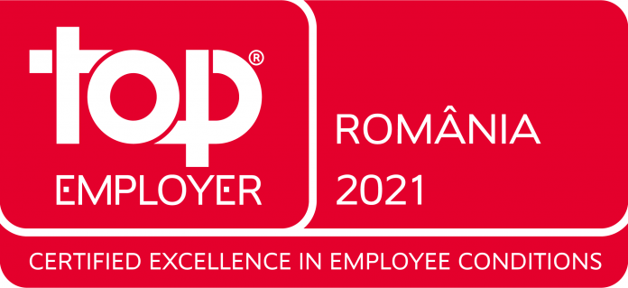 Vodafone Romania certificata Top Employer