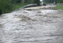 Cod ROȘU hidrologic pe afluenții râului Olt - VIDEO