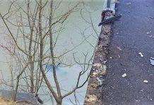Accident pe Valea Oltului la Caineni un autoturism a cazut in raul Olt