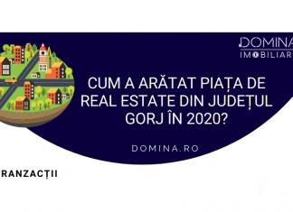Piața imobiliară din Gorj în 2020