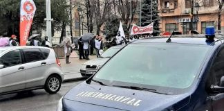 Măsuri de ordine publică la protestul organizat duminică - 21 februarie, la Prefectura Mehedinți
