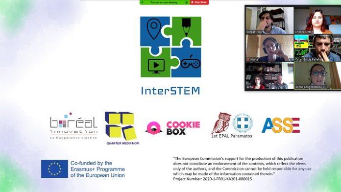 Erasmus+, InterSTEM - Utilizarea interdisciplinară a științei, tehnologiei, ingineriei și matematicii pentru predarea disciplinelor non-STEM în învățământul obligatoriu
