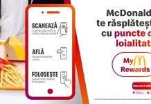 MyM Rewards program de loialitate pin aplicatia de mobil McDonald's