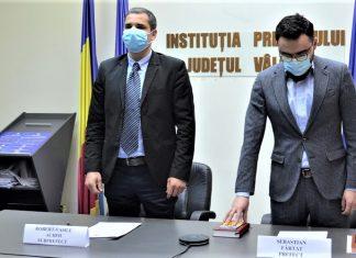 Prefectul judetului Valcea Sebastian Fartat reînvestit in functie