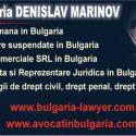 Biroul Avocat vorbitor de limba romana din Bulgaria
