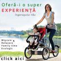 Bicicleta-Carucior 2in1 Convertibila Kangobike