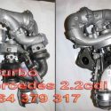Turbina Sprinter Biturbo 2.2 CDI 120 KW 163 Vito 2008 2009 2010 2011