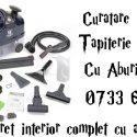 curatare tapiterie auto cu aburi 0733607225