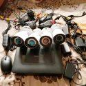Kit sistem de supraveghere pro 4 camere HD complet,Transport Gratuit