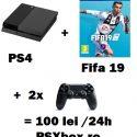 Inchiriere console jocuri video PlayStation 4 PS4 si Xbox Bucuresti PSXbox