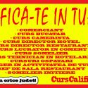 Curs manager in turism, bucatar, ospatar, director hotel etc