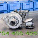 Turbina nou reconditionata 1.6tdci Ford Focus Mazda 3 Volvo Citroen motorizare 90 si 110cp