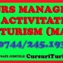 Curs Manager in Activitatea de Turism Oradea, Cluj, Timisoara