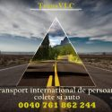Transport persoane si colete international