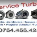 Reconditionare turbina Suceava Service cu demontare de pe masina