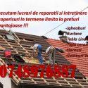 Reparatii si renovere acoperis